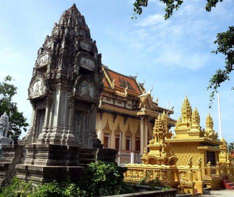 Wat Sanker in Battambang
