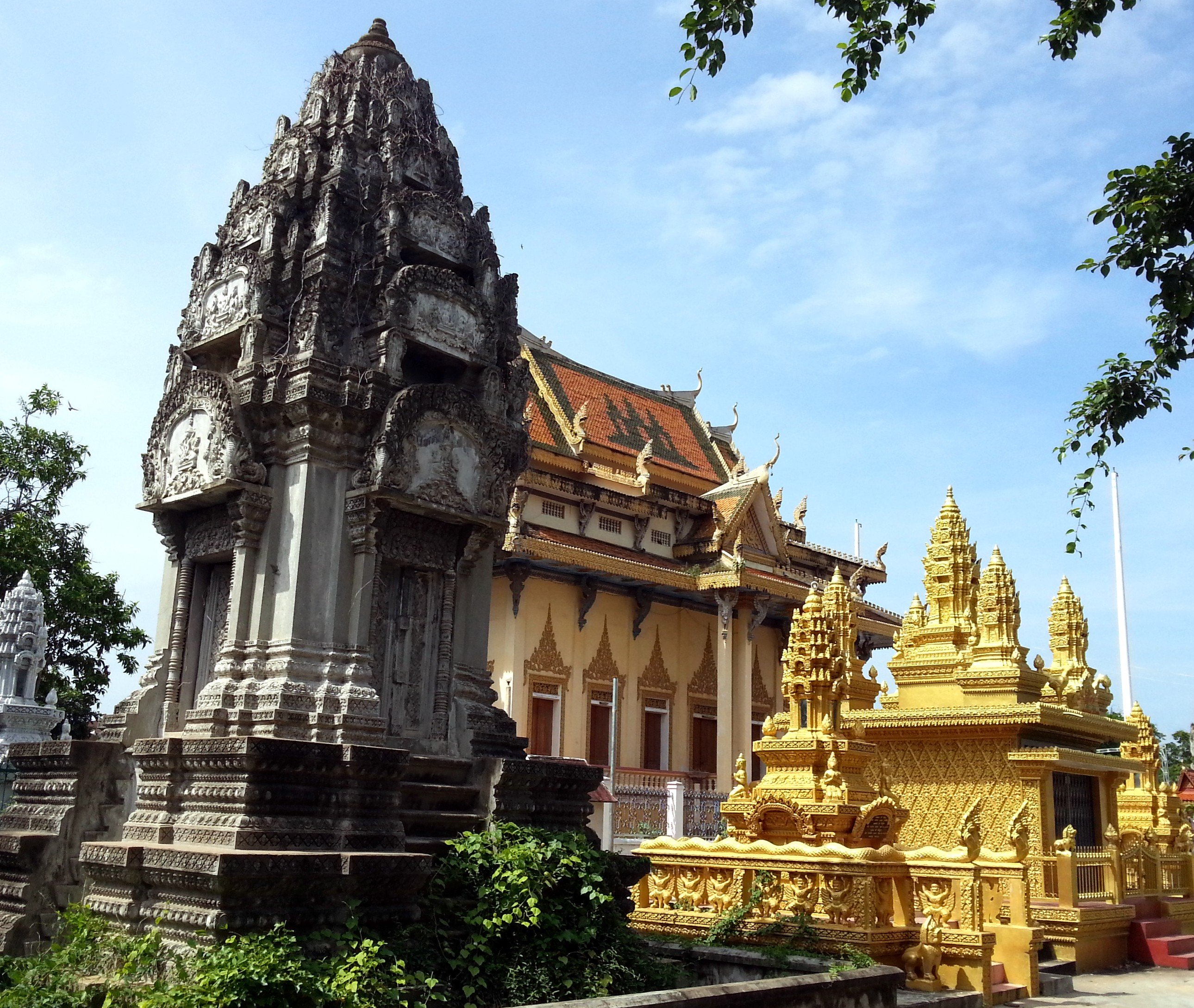 Wat Sanker in Battambang