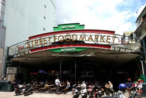 Street Food Market in Saigon
