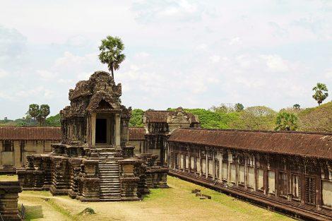 Angkhor Wat in Siem Reap