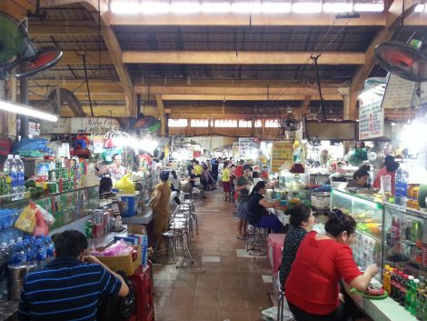 Foodstalls in Ben Thanh Market