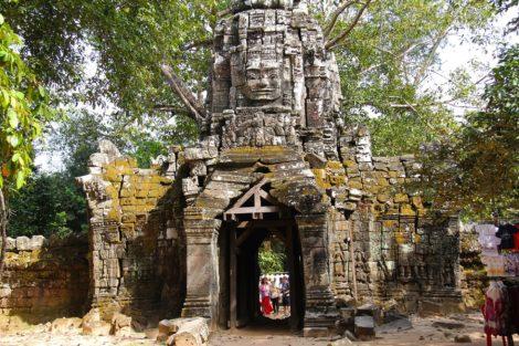 Ta Som Temple near Siem Reap