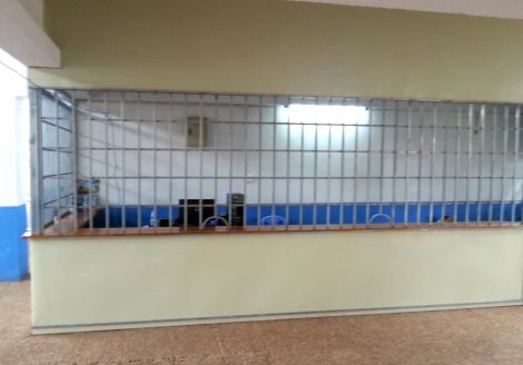 Ticket counter at Sihanoukville Train Station