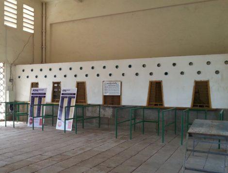 Ticket counters at Battambang Railway Station