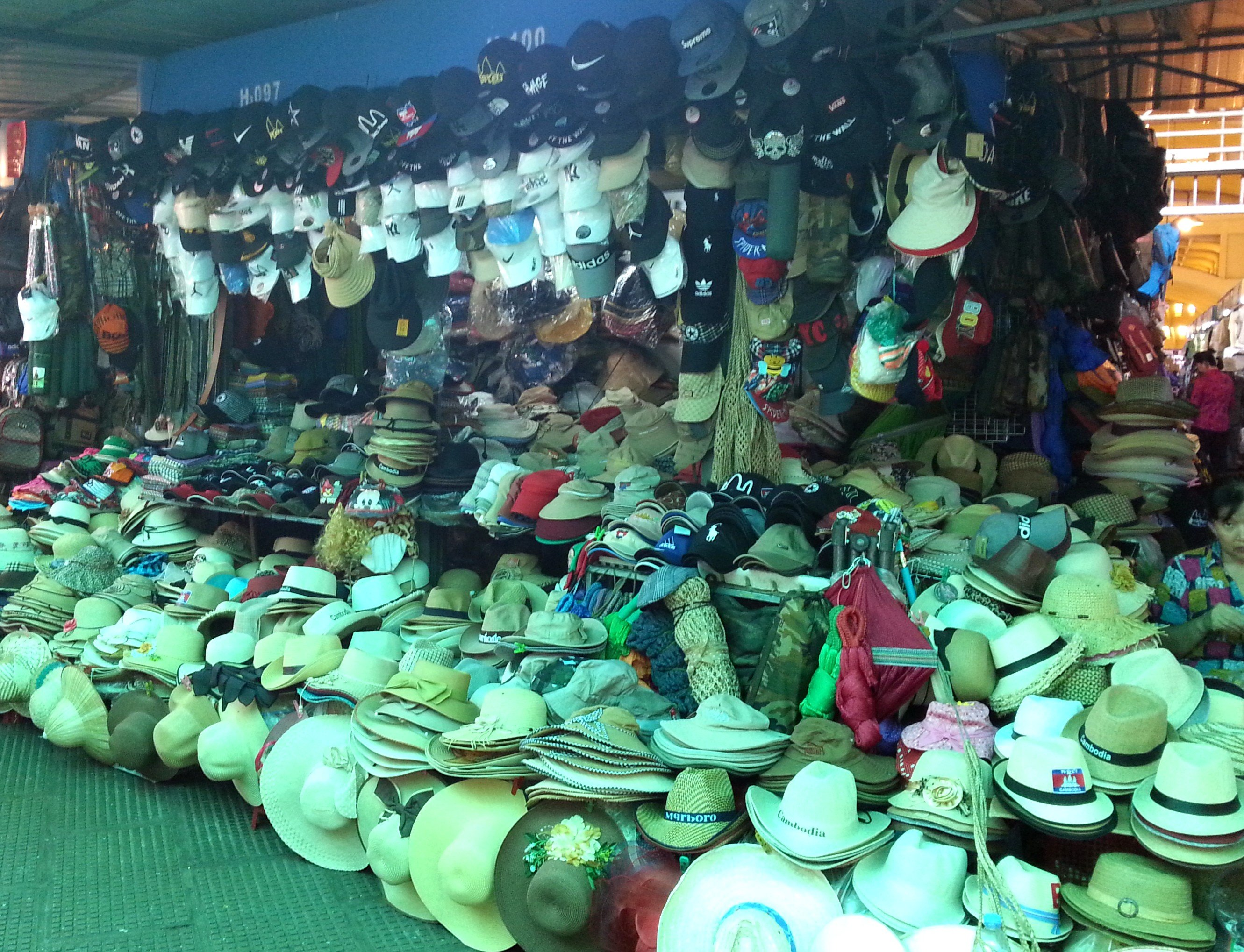 Chances are you will find a hat that fits