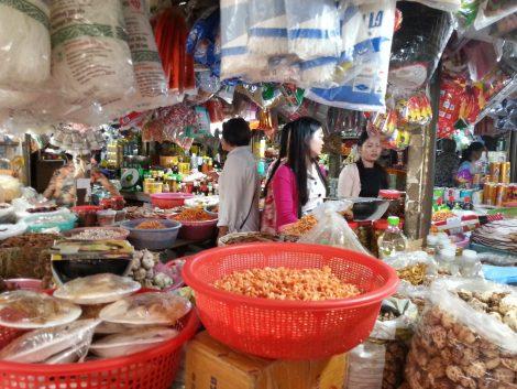Dried goods at Pasar Nat