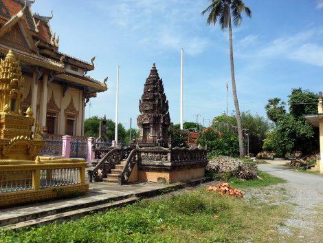 Sangke Pagoda in Battambang