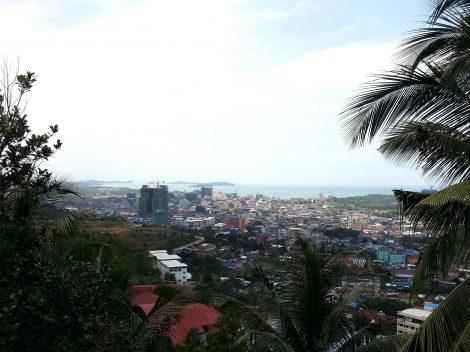 View from Wat Leu
