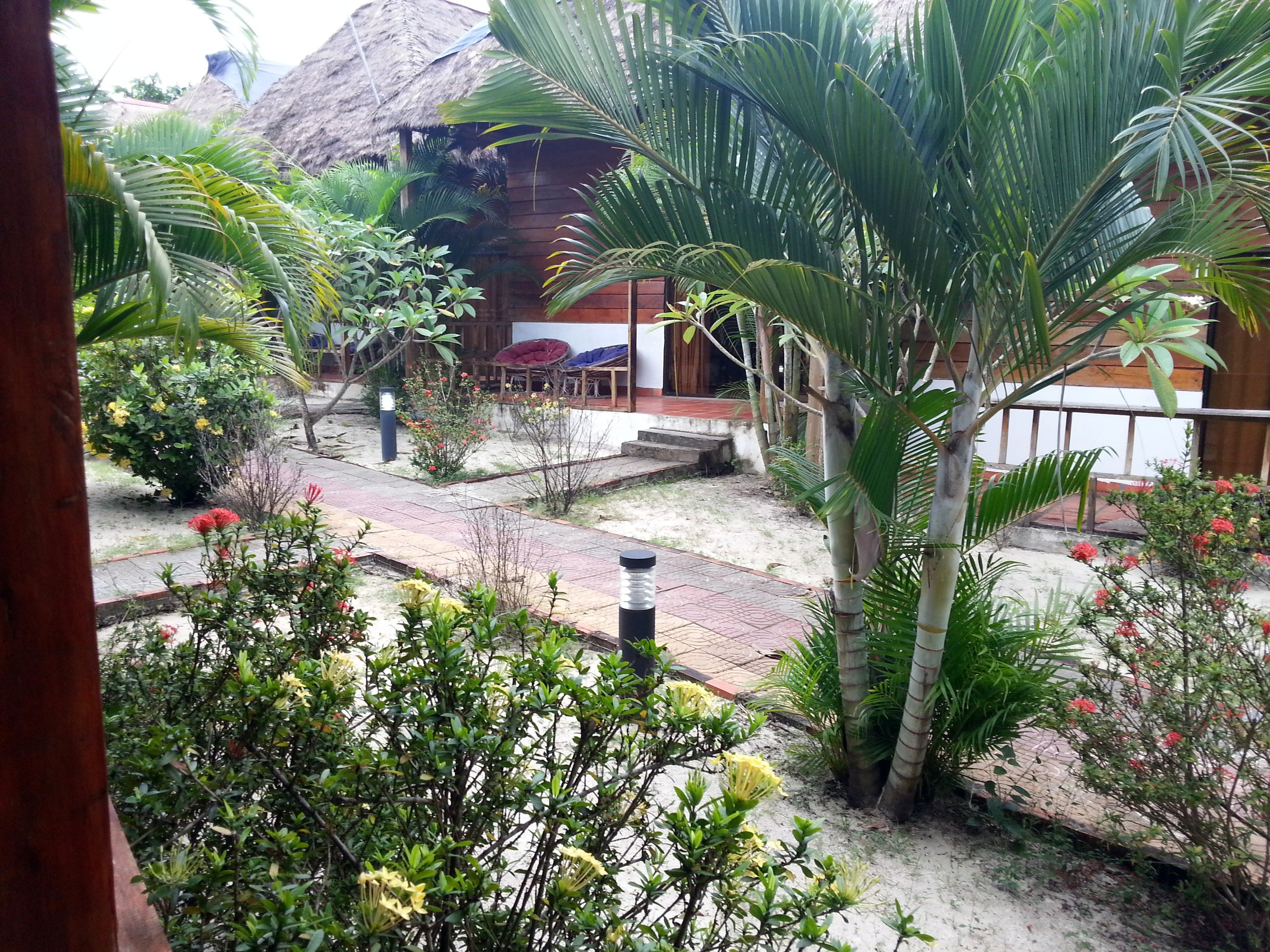 Garden at the Otres Lodge