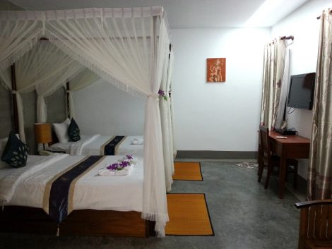 Superior Room at the Succo Gene Palace Boutique Hotel