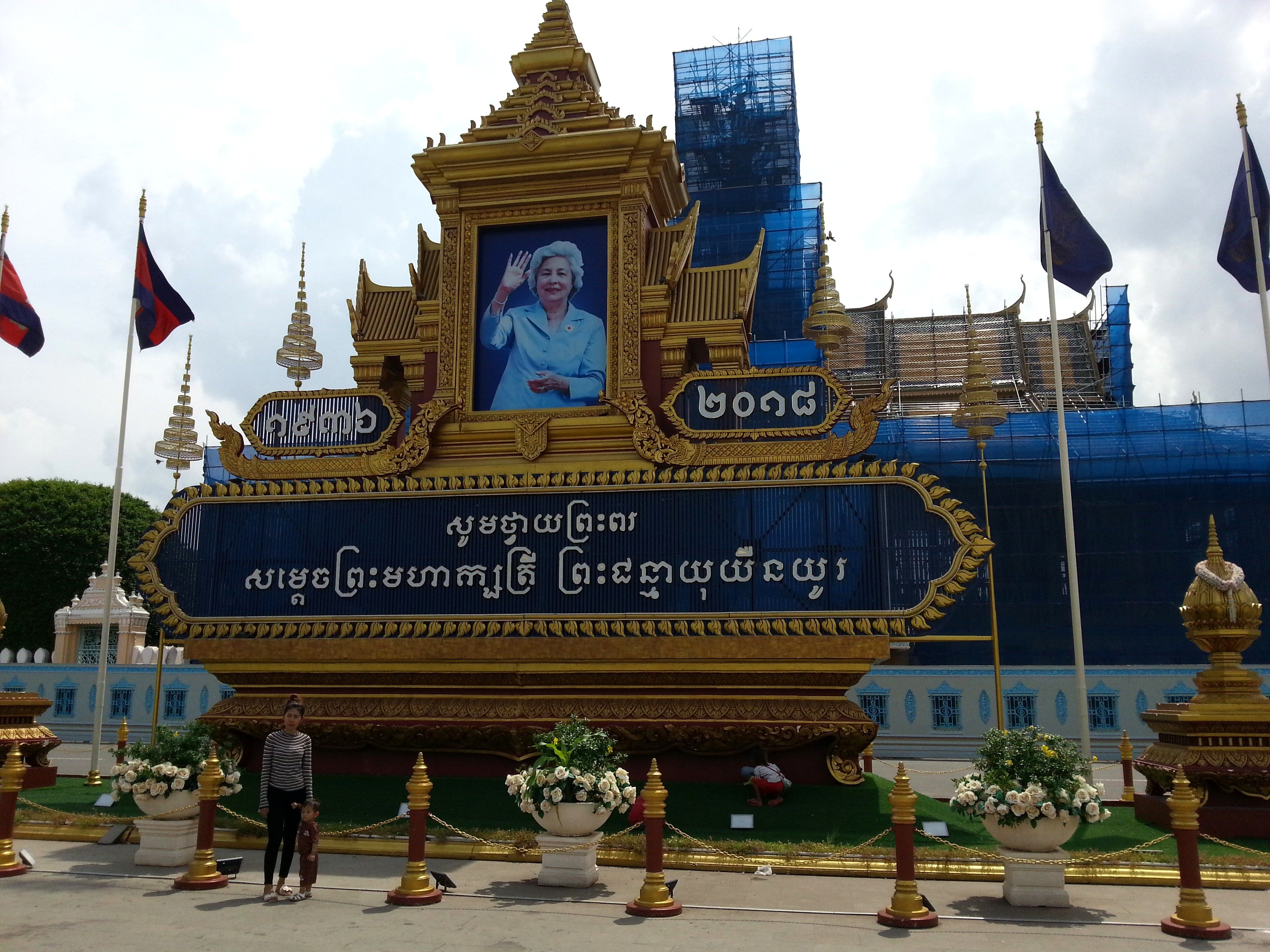 Monument to Cambodia's Queen Mother