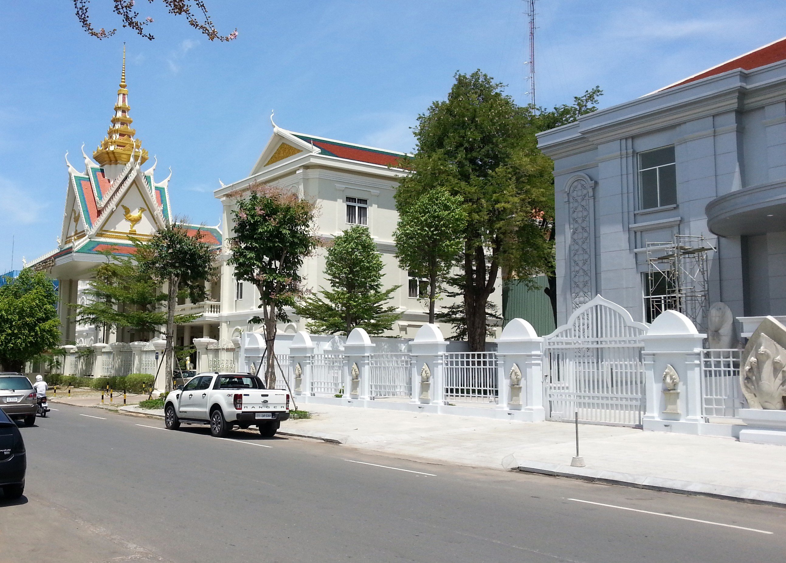 The Cambodia Securities Exchange is on Street 106