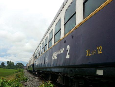 Train from Sihanoukville to Phnom Penh