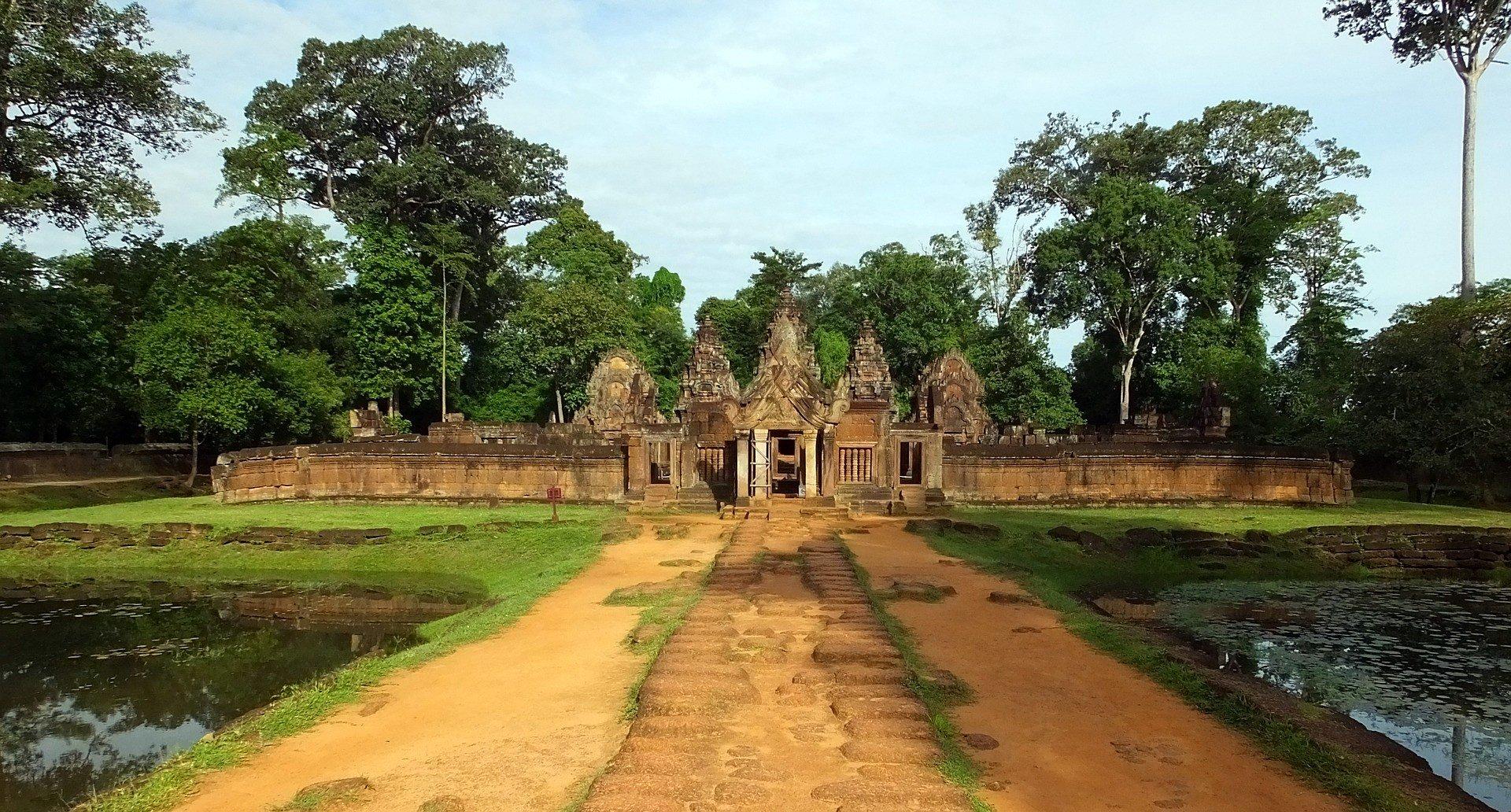 Banteay Srei Temple near Siem Reap