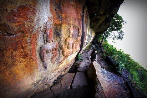 Carvings at Preah Vihear Temple