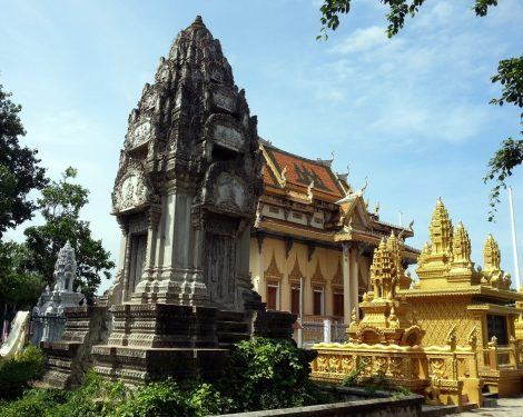 Sangke Pagoda in Battambang