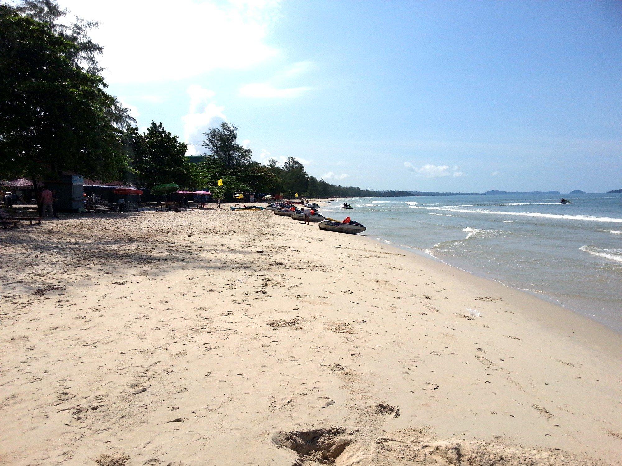 Ochheuteal Beach in Sihanoukville