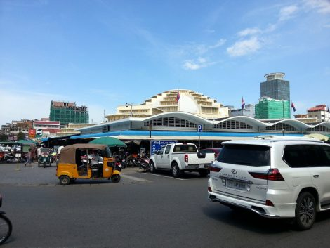 Central Market in Phnom Penh