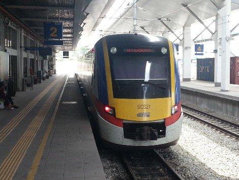 Train in Malaysia