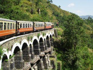 Train service in India