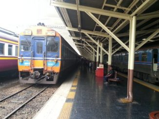 Trains at Bangkok Railway Station