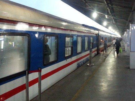 Vietnam train service at Saigon Railway Station