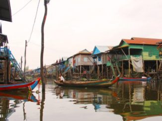 Kampong Phluk Floating Village near Siem Reap