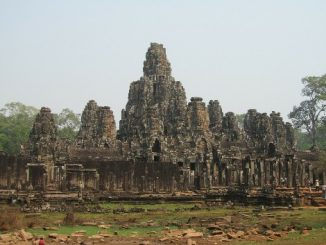 Bayon Temple near Siem Reap