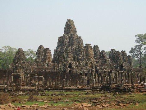 Bayon Temple near Siem Reap