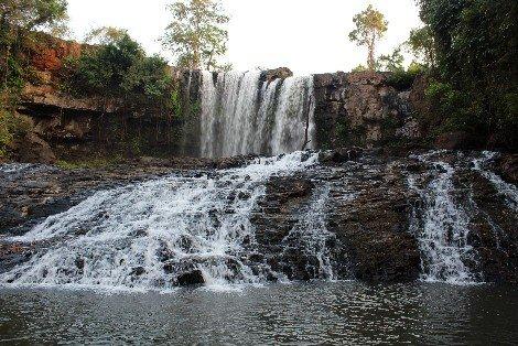 Bou Sra Waterfall in Mondulkiri Province