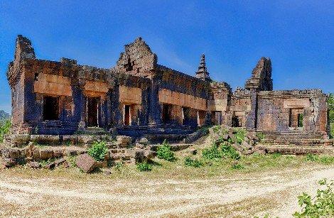 Phnom Chisor in Takeo Province
