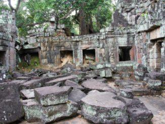 Preah Khan Temple near Siem Reap