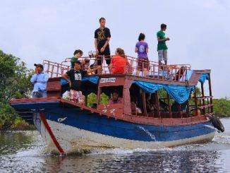 River boat in Cambodia