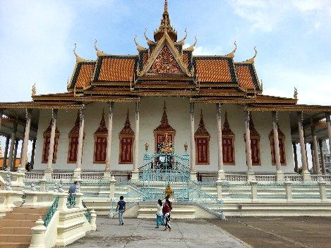 The Silver Pagoda in Phnom Penh