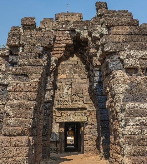 Nokor Bachey Pagoda near Kampong Cham