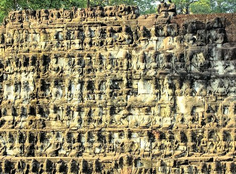 Terrace of the Leper King near Siem Reap